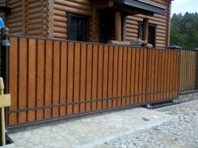 Ворота распашные в одинцово ворота автоматические с калиткой цена